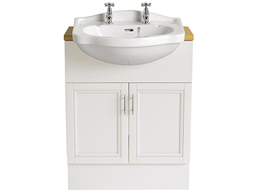 Rhyland Semi-Recessed Medium Basin 2 taphole