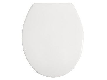 Toilet Seat Soft Close White Thermoset