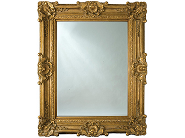 Chesham Grand Mirror 224cm x 142cm Amber Gold