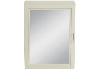Caversham 500mm Mirror Wall Cabinet Oyster
