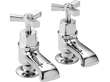 Gracechurch Bath Taps Chrome