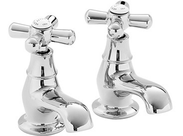 Ryde Bath Taps Chrome