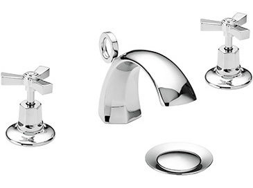 Gracechurch 3TH Basin Mixer Chrome