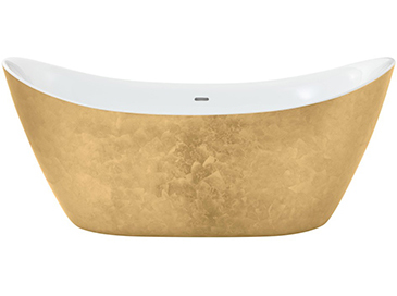 Hylton Freestanding Acrylic Bath Gold Effect