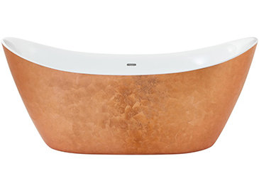 Hylton Freestanding Acrylic Bath Copper Effect