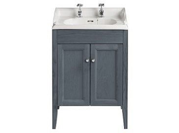 Caversham Vanity for Dorchester Square Graphite