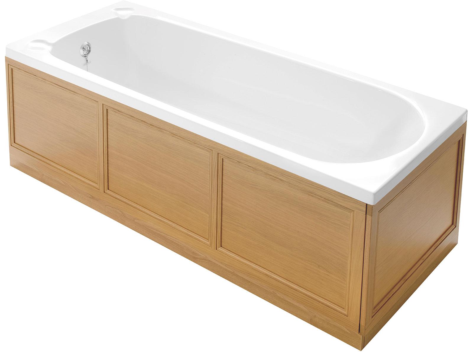 1700mm front bath panel bath panel wood heritage. Black Bedroom Furniture Sets. Home Design Ideas