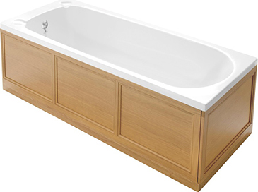 1800mm Front Bath Panel oak