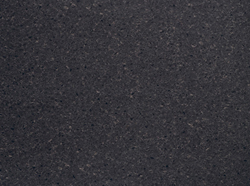 2M Straight Cut Worktop Black Wrapped