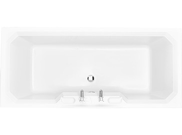 Granley Double Ended Bath 1800 x 800 2TH Solid Skin