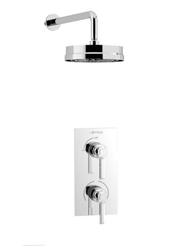 Somersby Concealed Dual Control Valve with Fixed Kit