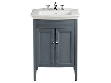 Caversham Vanity for Blenheim Basin Graphite