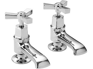 Gracechurch Basin Taps Chrome