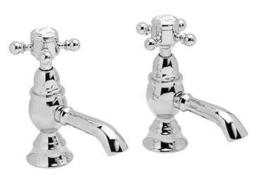 Hartlebury Basin Taps Chrome