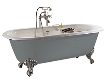 Baby Buckingham Cast Iron Bath With Tap Holes