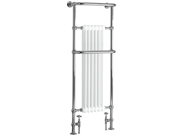 Cabot Heated Towel Rail Chrome