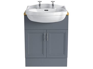 Caversham 640mm Vanity Unit Graphite
