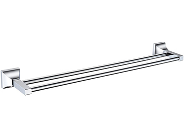 Chancery Double Towel Rail Chrome