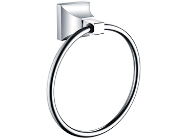 Chancery Towel Ring Chrome