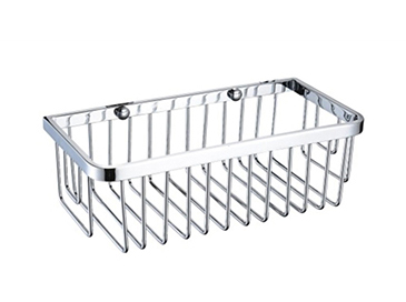 Rectangle Wire Basket 70x270x190mm Chrome