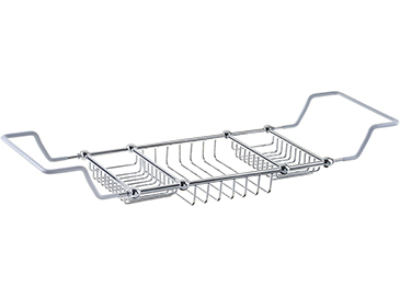Bath Rack 50x210x640-820mm Chrome