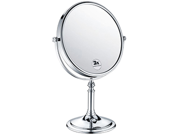 Free Standing 8inch Mirror Chrome