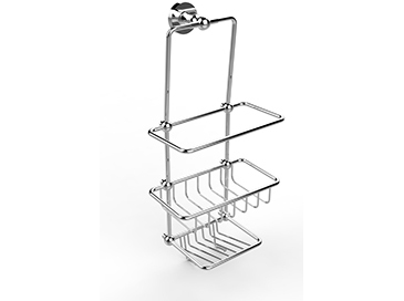 Shower Tidy 435x165x205mm Chrome
