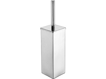 Square Toilet Brush Chrome