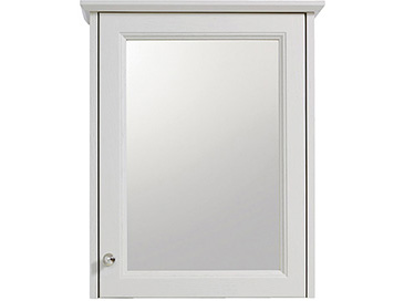 Caversham 1 door mirror wall cabinet Dove Grey