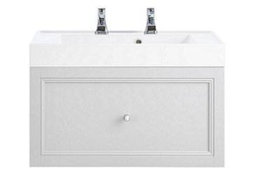 Caversham WH Vanity Unit 1 Drawer Dove Grey