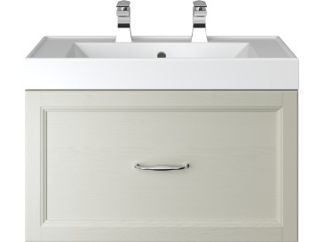 Caversham WH Vanity Unit 1 Drawer Oyster