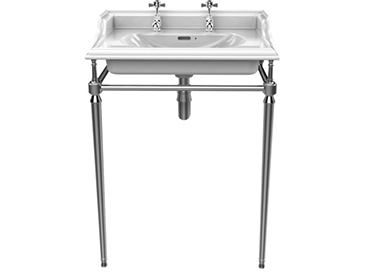 Abingdon Dorchester Washstand Chrome