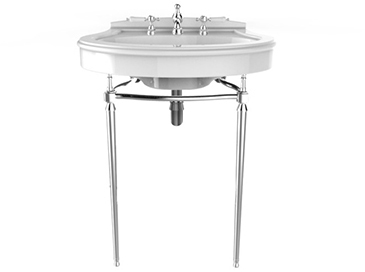 Abingdon Claverton Washstand Chrome