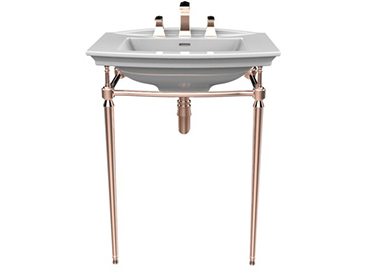 Abingdon Blenheim Washstand Rose Gold