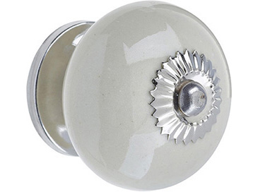 Ceramic Door Knob Cream