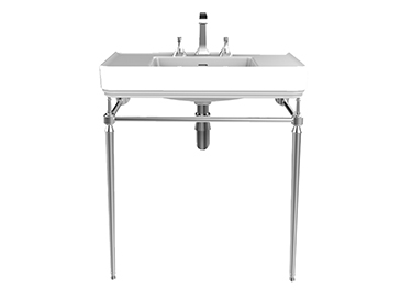 Abingdon Wynwood Washstand Chrome 800
