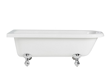 Tilbury Corner Freestanding Acrylic Bath 0TH LH