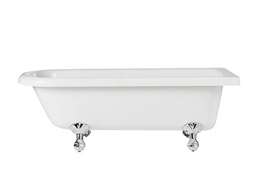 Tilbury Corner Freestanding Acrylic Bath 0TH RH