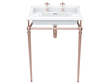 Abingdon Dorchester Washstand Rose Gold