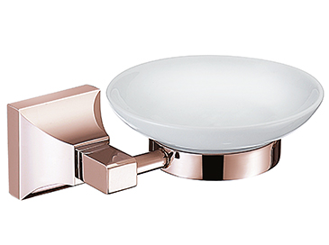 Chancery Soap Dish Rose Gold