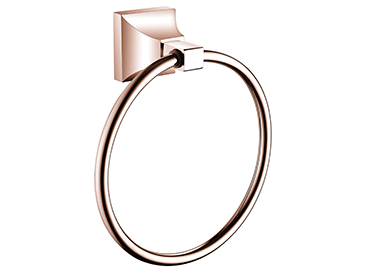 Chancery Towel Ring Rose Gold