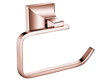 Chancery Toilet Roll Holder Rose Gold