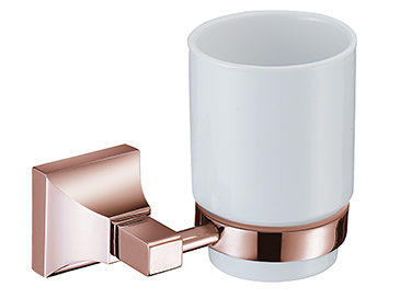 Chancery Tumbler & Holder Rose Gold
