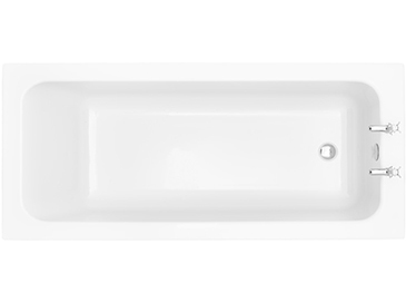 Wynwood SE1700x750 Fitted Acrylic Bath 2TH Solid Skin