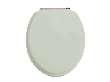 Toilet Seat Rose Gold Standard Hinge Ivory Lace