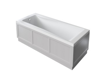 Caversham 1700mm Bath Panel Dove Grey