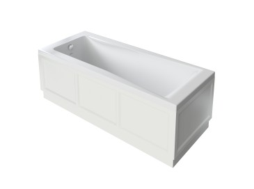 Caversham 1700mm Bath Panel White Ash