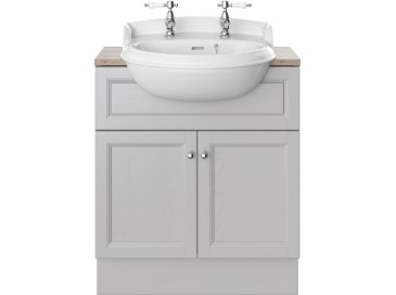 Caversham 700mm Vanity Unit Dove Grey