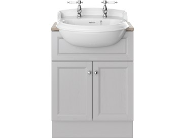 Caversham 600mm Vanity Unit Dove Grey