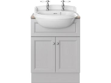Caversham 600mm Vanity Unit Dove Grey Furniture Vanity